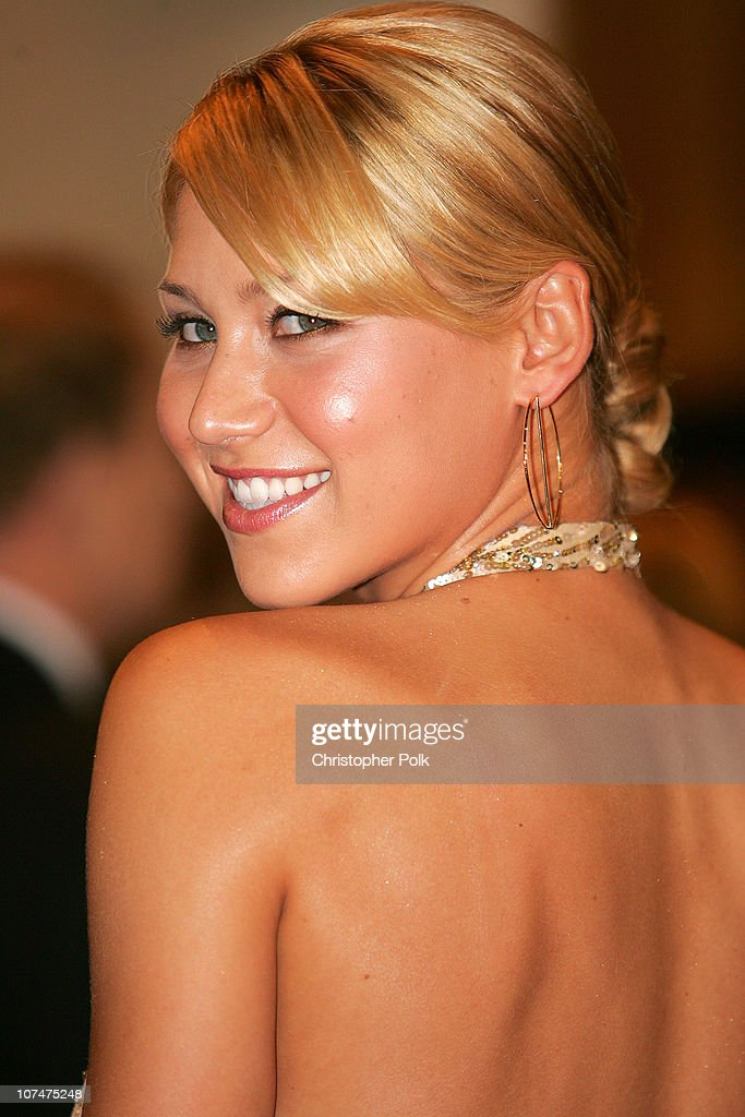 Anna Kournikova during 2005 World Music Awards - Arrivals at Kodak Theater in Hollywood, California, United States.
