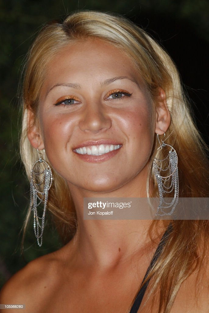 Anna Kournikova during 3rd Annual 'An Enduring Vision' Charity Gala at The Bluffs on Pelican Hill in Newport Beach, California, United States.