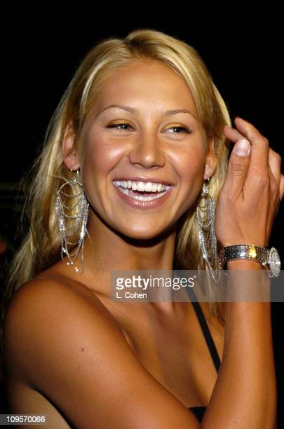 Anna Kournikova during 3rd Annual ' An Enduring Vision ' Fundraiser Arrivals at Pelican Hill Golf Club in Newport Beach California United States