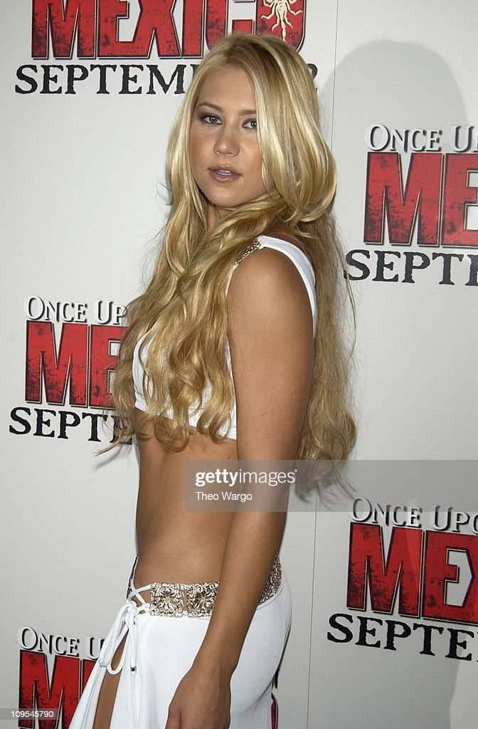 <a gi-track='captionPersonalityLinkClicked' href=/galleries/search?phrase=Anna+Kournikova&family=editorial&specificpeople=176472 ng-click='$event.stopPropagation()'>Anna Kournikova</a> during New York Premiere of 'Once Upon a Time in Mexico' - Inside Arrivals at Loews Lincoln Square Theatre in New York City, New York, United States.