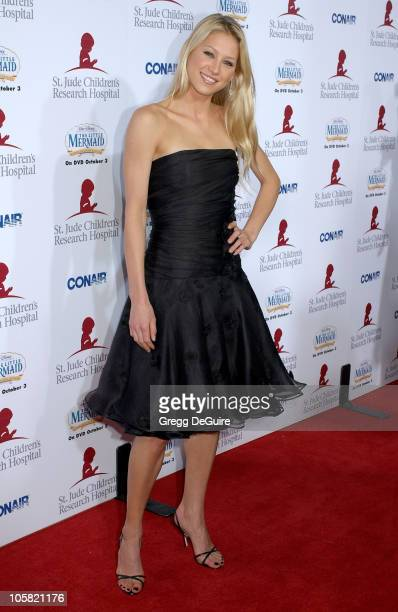 Anna Kournikova during 'Runway For Life' Benefiting St Jude Children's Research Hospital Sponsored by Disney's 'The Little Mermaid' DVD and The...