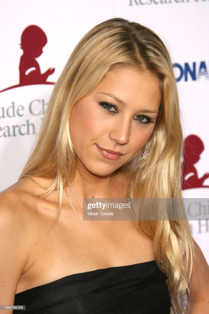 Anna Kournikova during 'Runway for Life' Celebrity Fashion Show Benefiting St. Jude Children's Research Hospital at Beverly Hilton Hotel in Beverly Hills, California, United States.