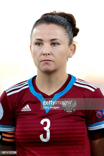 Anna Kozhnikova of Russia during the Algarve Cup Tournament Match between Sweden W and Russia W on March 8 2017 in Albufeira Portugal
