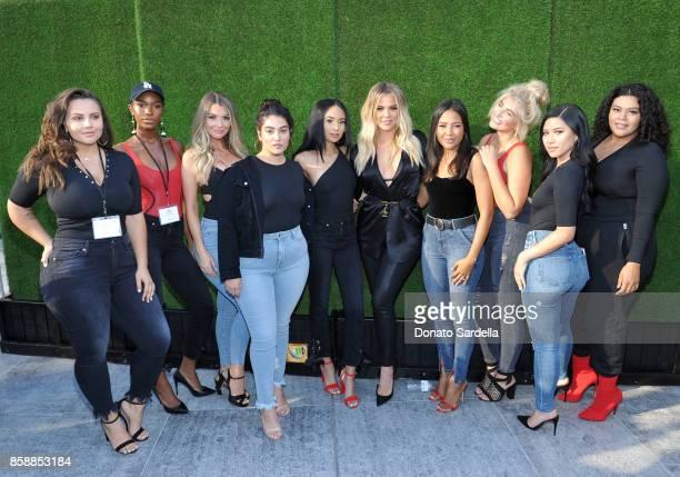 Anna Krylova Shae Scott Emily Sears Nadia Aboulhosn Symphani Soto cofounders of Good American Khloe Kardashian and Emma Grede Sarina Nowak Julia...