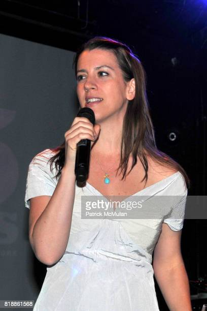 Anna Lappe attends RAINFOREST ACTION NETWORK's 25th Anniversary Benefit Hosted by CHRIS NOTH at Le Poisson Rouge on April 29 2010 in New York City