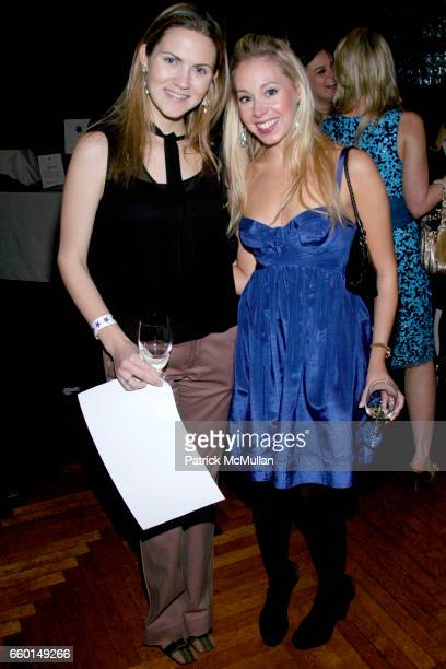 Anna Lee Wolcott and Jill Crawford attend WINTER ANTIQUES SHOW Young Collectors' Night Sponsored by ELIE TAHARI at The Park Avenue Armory on January...