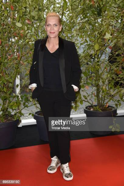 Anna Loos attends the Cocktail prolonge to the SemiFinal Round Of Judging Of The International Emmy Awards 2017 on June 12 2017 in Berlin Germany