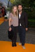 Anna Loos und JanJosef Liefers attends the ZDF Summer Reception on July 14 2014 in Berlin Germany