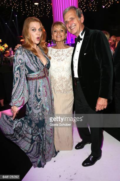 Anna Loos Uschi Glas and her husband Dieter Hermann during the Goldene Kamera after show party at Messe Hamburg on March 4 2017 in Hamburg Germany