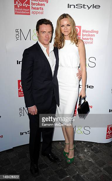 Anna Louise Plowman and Toby Stephens attend Tunnel of Love in aid of The British Heart Foundation at Proud Camden on May 29 2012 in London England