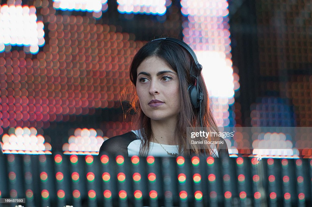 Anna Lunoe performs during 2013 Electric Daisy Carnival Chicago at Chicagoland Speedway on May 24, 2013 in Joliet City.