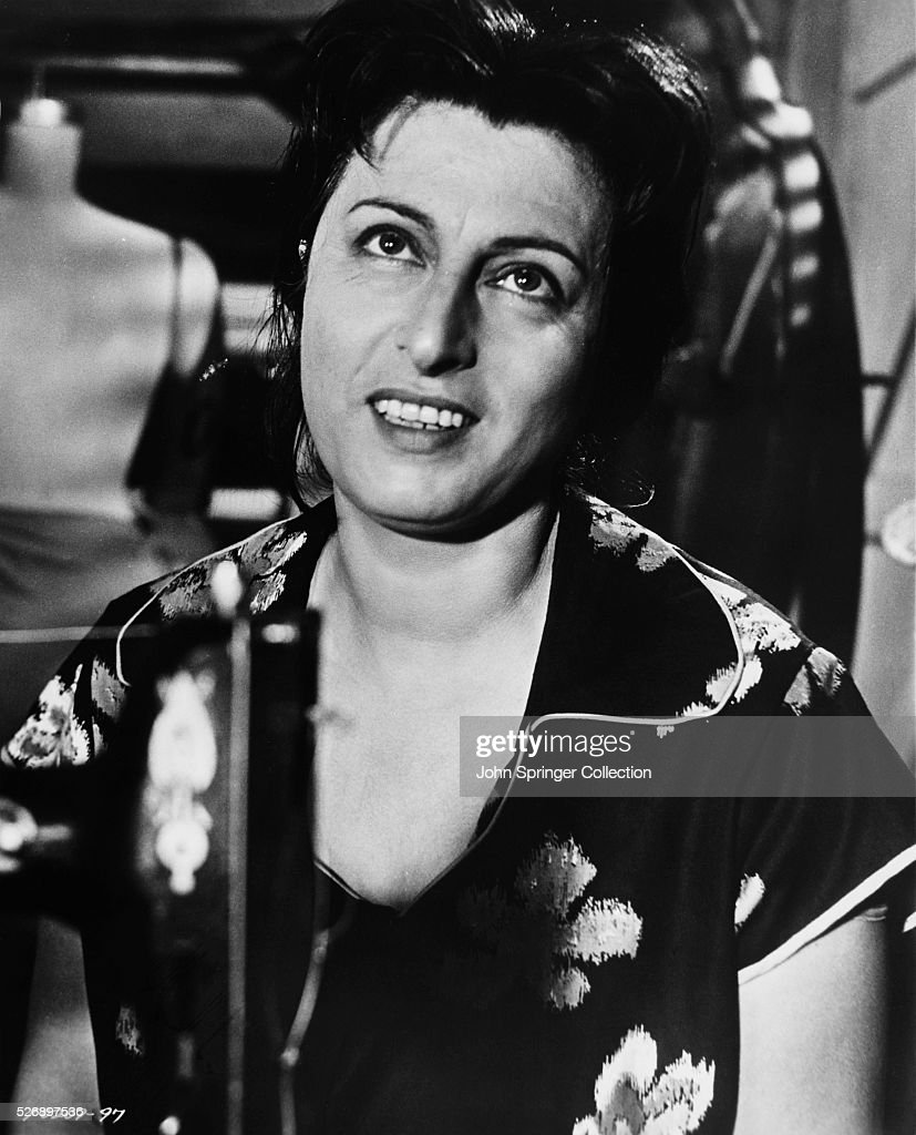 Anna Magnani as Serafina Delle Rose in the 1955 film The Rose Tattoo