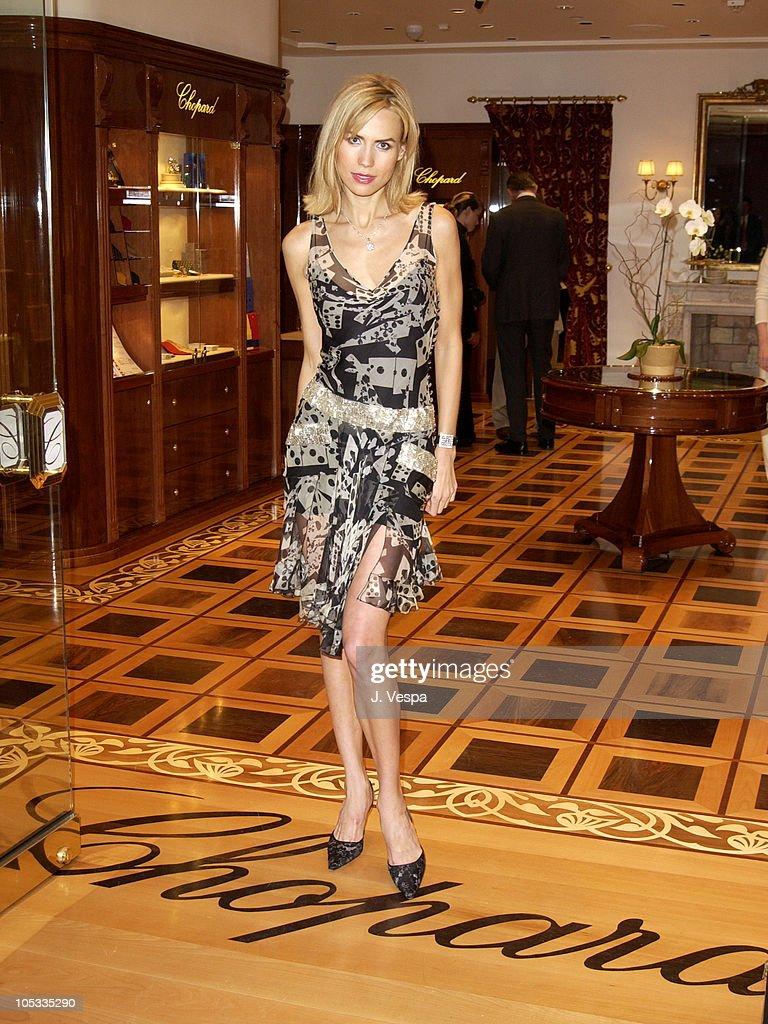 Anna Malova, Miss Russia During Chopard Las Vegas Boutique