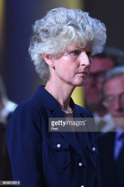 Anna Maria Corazza Bild Wife of Swedish Foreign Minister Carl Bildt during a requiem for former German Chancellor Helmut Kohl at Speyer cathedral on...