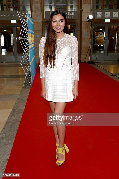 Anna Maria Damm attends DUFF' Berlin Premiere at Palais am Funkturm on July 03 2015 in Berlin Germany