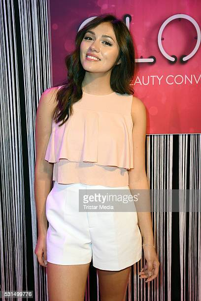 Anna Maria Damm attends the 'GLOW The Beauty Convention' on May 14 2016 in Stuttgart Germany