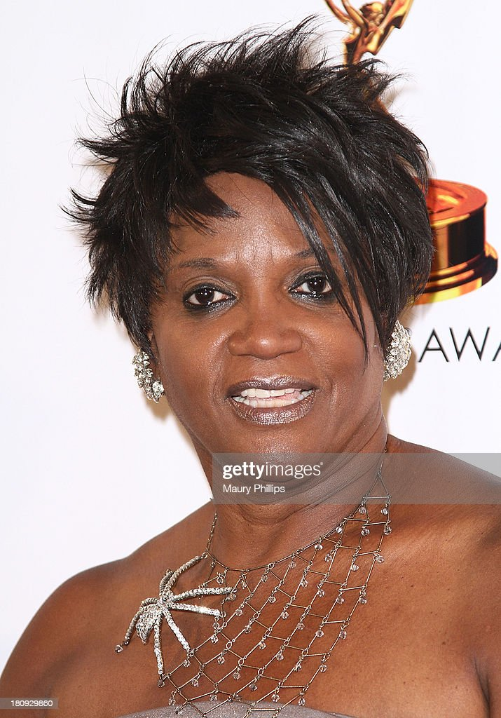 <a gi-track='captionPersonalityLinkClicked' href=/galleries/search?phrase=Anna+Maria+Horsford&family=editorial&specificpeople=1504118 ng-click='$event.stopPropagation()'>Anna Maria Horsford</a> arrives at Dynamic & Diverse - A 65th Emmy Awards Nominee celebration at Academy of Television Arts & Sciences on September 17, 2013 in North Hollywood, California.