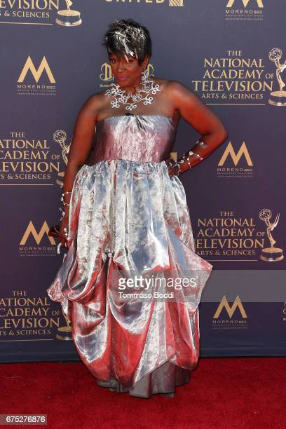 Anna Maria Horsford attends the 44th Annual Daytime Emmy Awards at Pasadena Civic Auditorium on April 30 2017 in Pasadena California