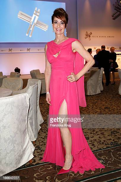 Anna Maria Kaufmann attends the Felix Burda Award 2013 at Hotel Adlon on April 14 2013 in Berlin Germany