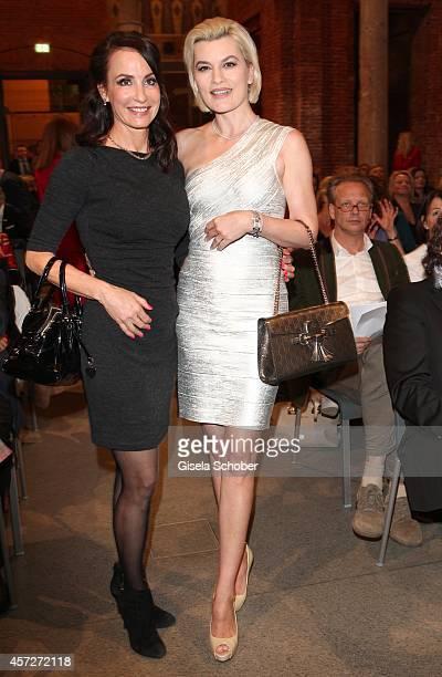Anna Maria Kaufmann Kriemhild Siegel attend the Prix Courage Award 2014 on October 15 2014 at AllerheiligenHofkirche in Munich Germany
