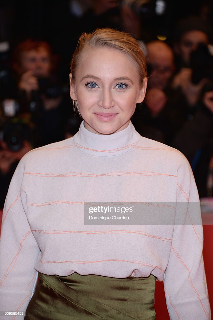 Anna Maria Mühe attends the 'Hail, Caesar!' premiere during the 66th Berlinale International Film Festival Berlin at Berlinale Palace on February 11, 2016 in Berlin, Germany.