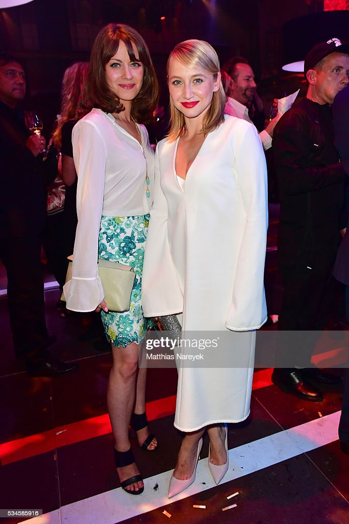 Anna Maria Muehe and Alice Dwyer during the New Faces Award Film 2015 at ewerk on May 26, 2016 in Berlin, Germany.