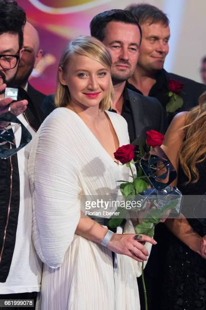 Anna Maria Muehe attends the 53rd Grimme Award at Theater Marl on March 31 2017 in Marl Germany