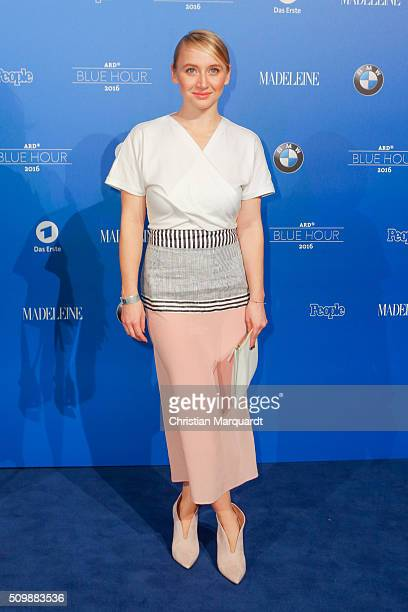 Anna Maria Muehe attends the Blue Hour Reception hosted by ARD during the 66th Berlinale International Film Festival Berlin on February 12 2016 in...