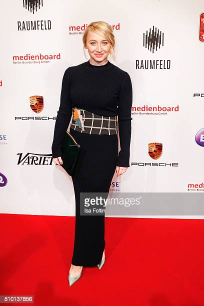 Anna Maria Muehe attends the Medienboard BerlinBrandenburg Reception on February 13 2016 in Berlin Germany