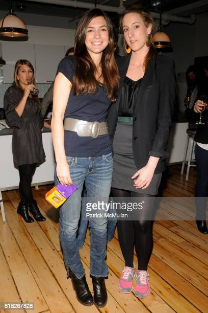 Anna Meisel and Kingsley Woolworth attend TAILS Celebrates 'I LOVE NYC PETS' Month at Meisel Residence on February 18 2010 in New York City
