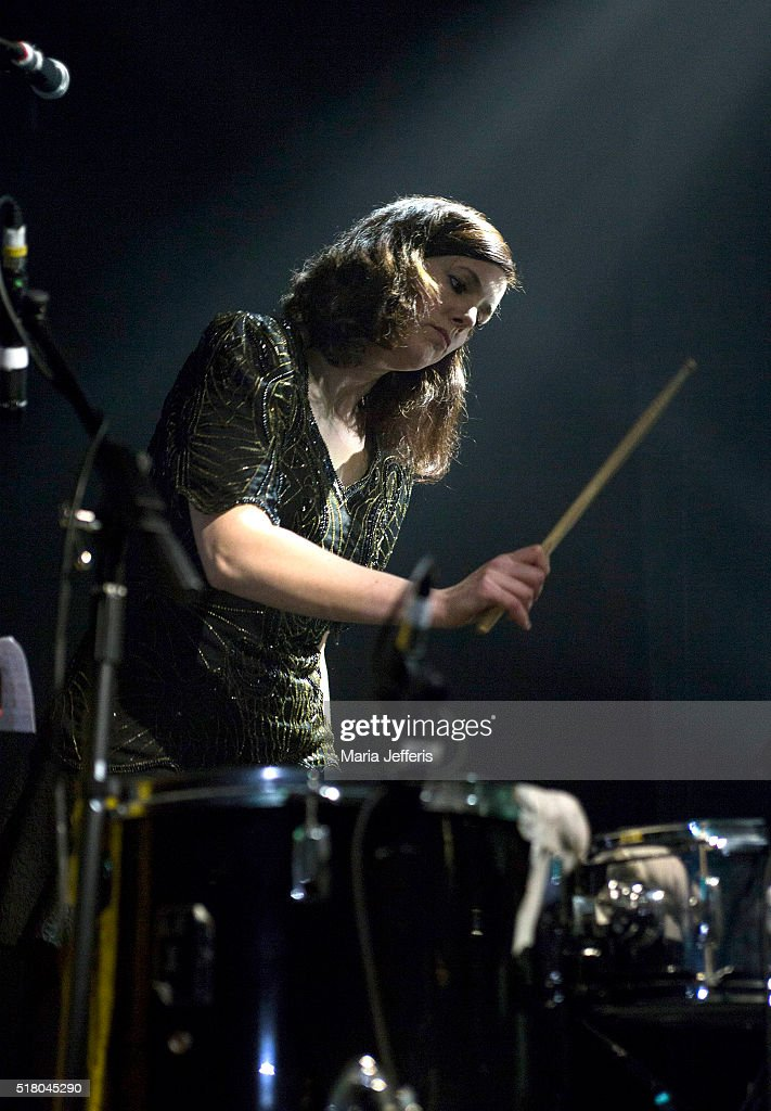 Anna Meredith performs at ICA on March 29 2016 in London England