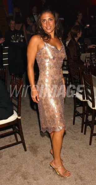 Anna Mistilis of FHM during 55th Annual Primetime Emmy Awards TV