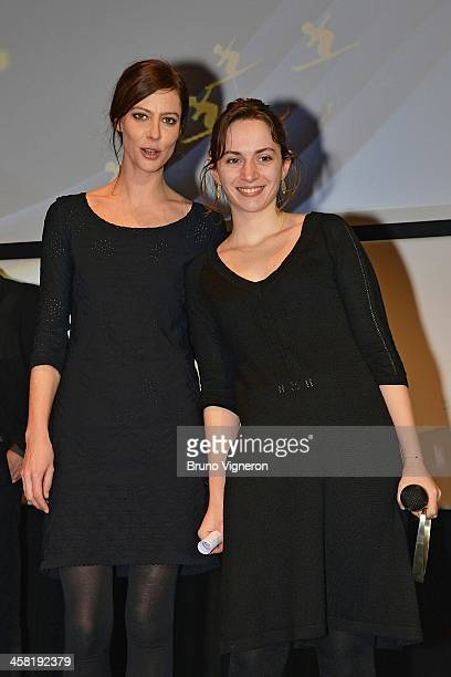Anna Mouglalis attends the 5th edition of Les Arcs European Film Festival on December 20 2013 in Les Arcs France