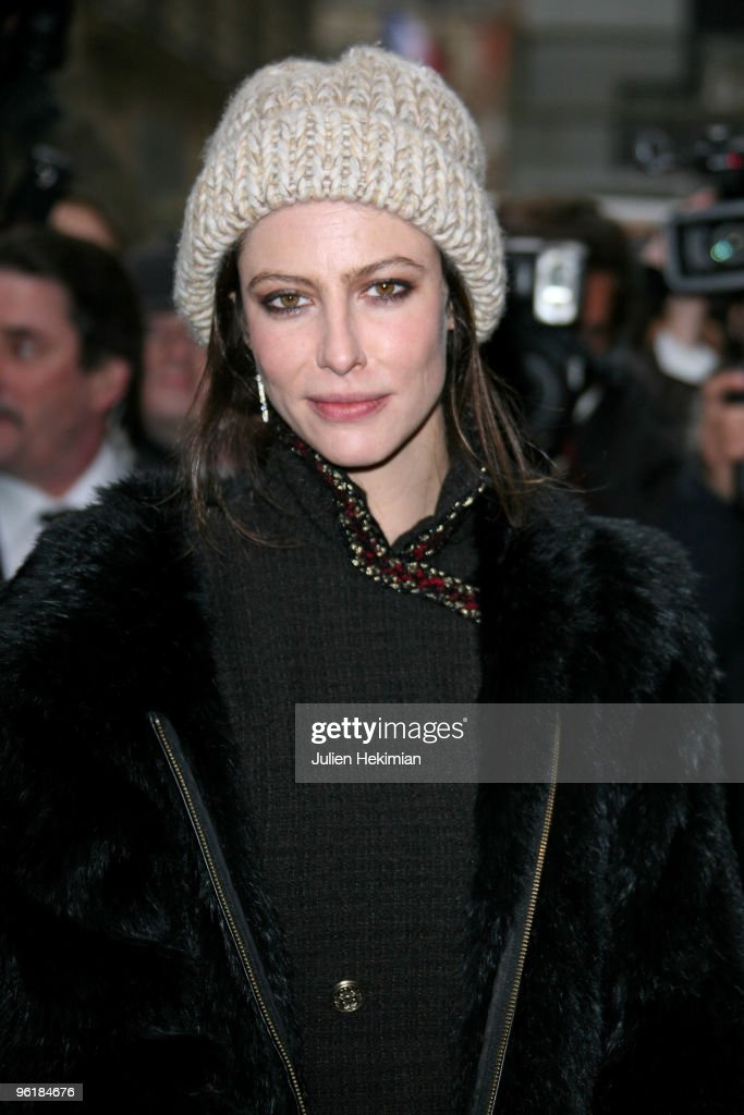 <a gi-track='captionPersonalityLinkClicked' href=/galleries/search?phrase=Anna+Mouglalis&family=editorial&specificpeople=611934 ng-click='$event.stopPropagation()'>Anna Mouglalis</a> attends the Chanel Haute-Couture show as part of Paris Fashion Week Spring/Summer 2010 at Pavillon Cambon Capucines on January 26, 2010 in Paris, France.