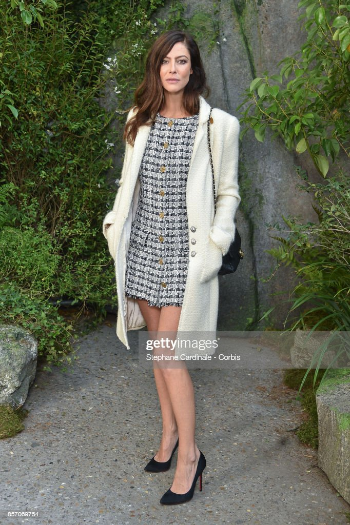 Chanel : Front Row - Paris Fashion Week Womenswear Spring/Summer 2018