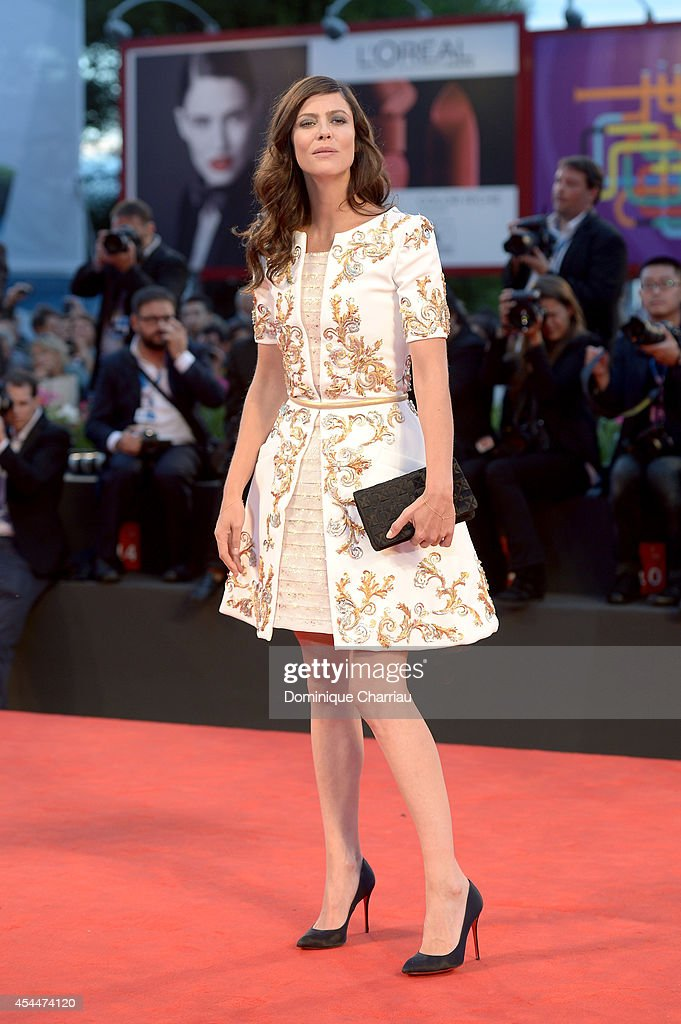 Anna Mouglalis attends the 'Il Giovane Favoloso' premiere during the 71st Venice Film Festival at Sala Grande on September 1, 2014 in Venice, Italy.