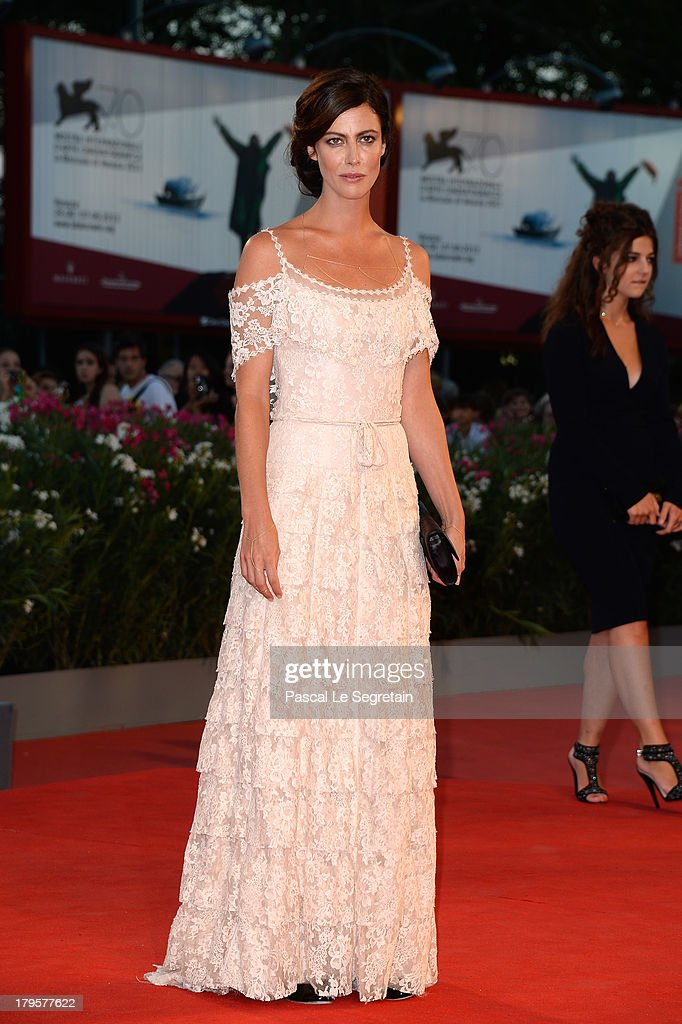 Anna Mouglalis attends the 'Jealousy' Premiere during the 70th Venice International Film Festival at the Palazzo del Cinema on September 5, 2013 in Venice, Italy.