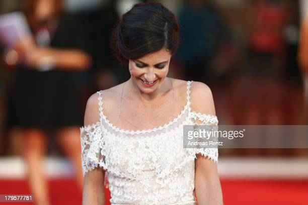 Anna Mouglalis attends the 'Jealousy' Premiere during the 70th Venice International Film Festival at the Palazzo del Cinema on September 5 2013 in...