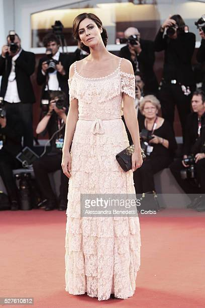 Anna Mouglalis attends the premiere of movie La Jalousie presented in competition at the 70th International Venice Film Festival
