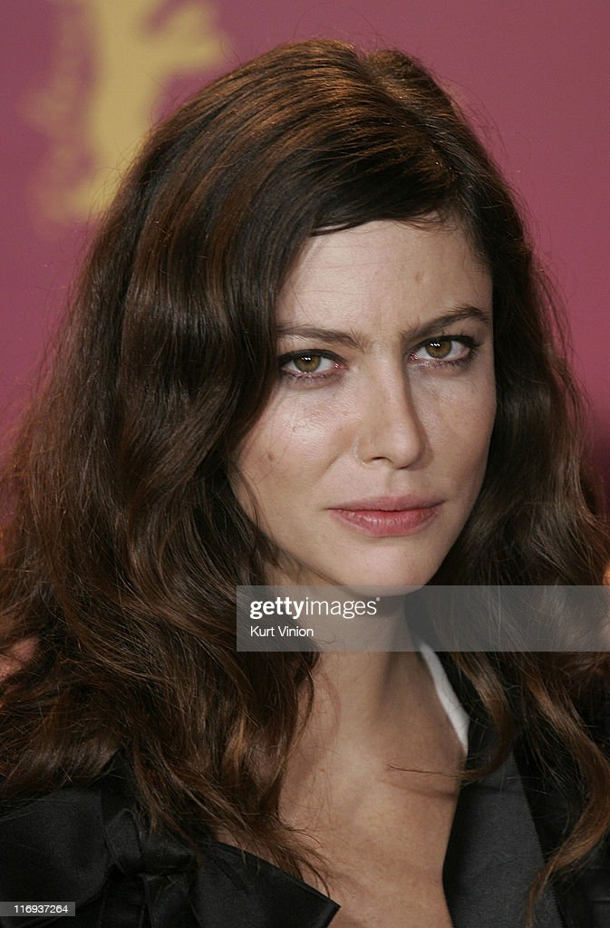 Anna Mouglalis during 56th Berlinale International Film Festival - 'Crime Novel' - Photocall at - anna-mouglalis-during-56th-berlinale-international-film-festival-picture-id116937264