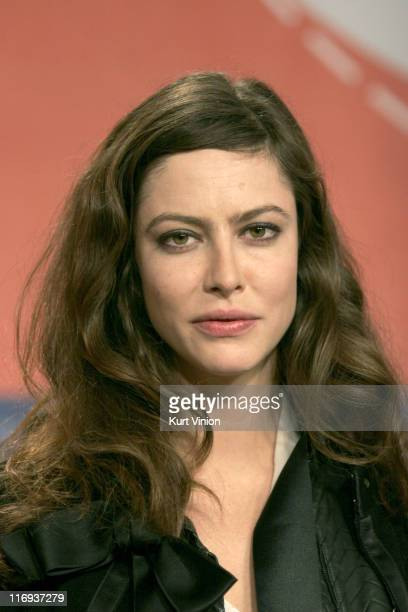 Anna Mouglalis during 56th Berlinale International Film Festival 'Crime Novel' Press Conference at Berlinale in Berlin Germany