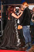 Anna Netrebko and David Garrett attend the ECHO Klassik 2014 on October 26 2014 in Munich Germany