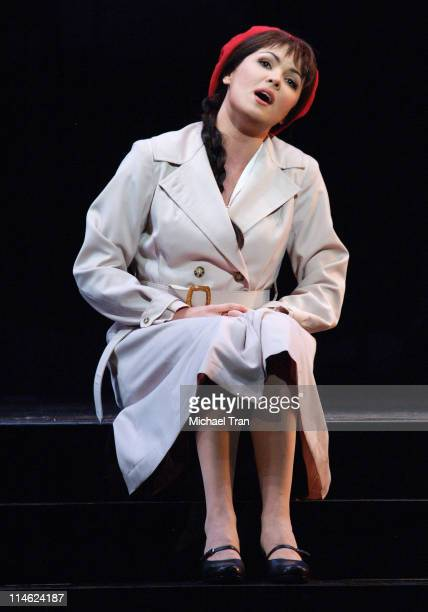 Anna Netrebko during LA Opera Presents 'Manon' Dress Rehearsals September 27 2006 at Dorothy Chandler Pavillion in Los Angeles California United...