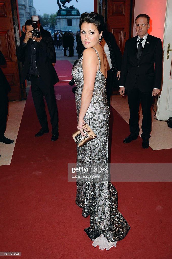 Anna Netrepko attends the 'Romy Award 2013' at Hofburg Vienna on April 20, 2013 in Vienna, Austria.
