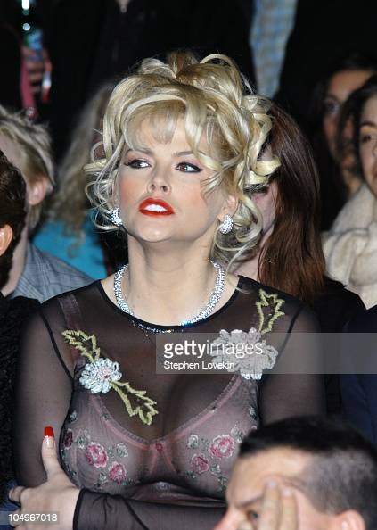 Anna Nicole Smith Stock Photos And Pictures Getty Images