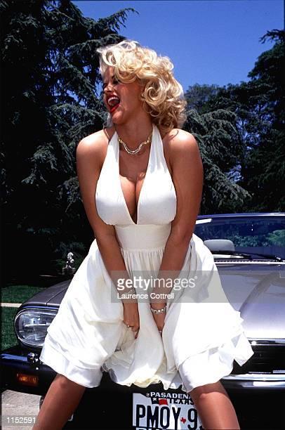 Anna Nicole Smith May 6 1993 in Los Angeles California