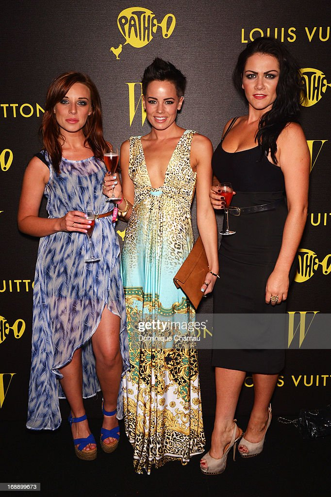 Anna Nightingale, Emma Conybeare, and Grainne Mccoy attend The Bling Ring Party hosted by Louis Vuitton during the 66th Annual Cannes Film Festival at Club d'Albane/JW Marriott on May 16, 2013 in Cannes, France.