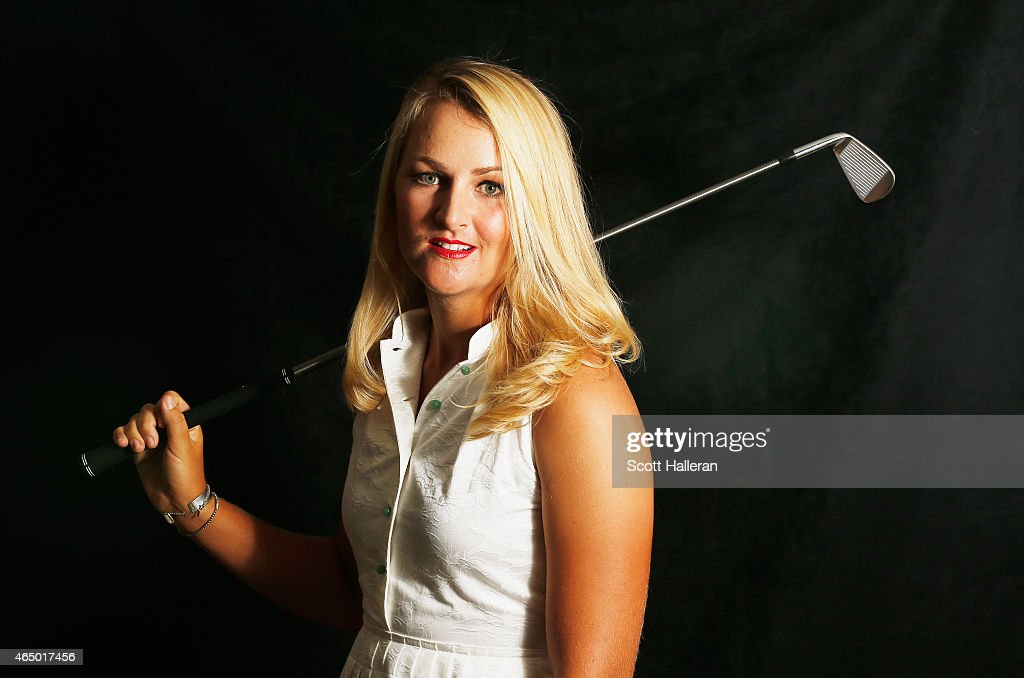 Anna Nordqvist of Sweden poses for a portrait at the launch event for the HSBC Women's Champions at the Fairmont Hotel on March 3 2015 in Singapore...