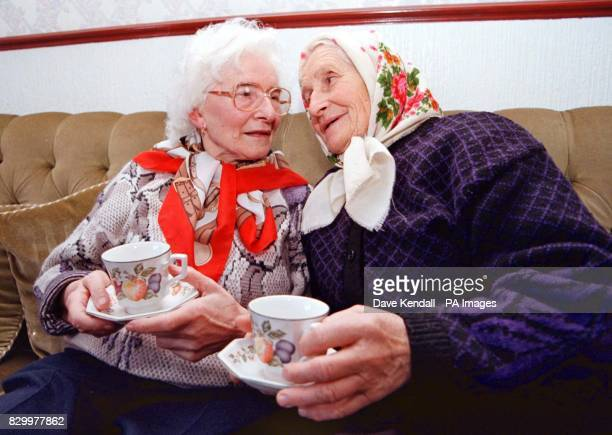 Anna Novak shares a drink today with her sister Teresa Jablonska who she last saw 55 years ago Ms Novak was just 14 when Nazi troops stormed her...