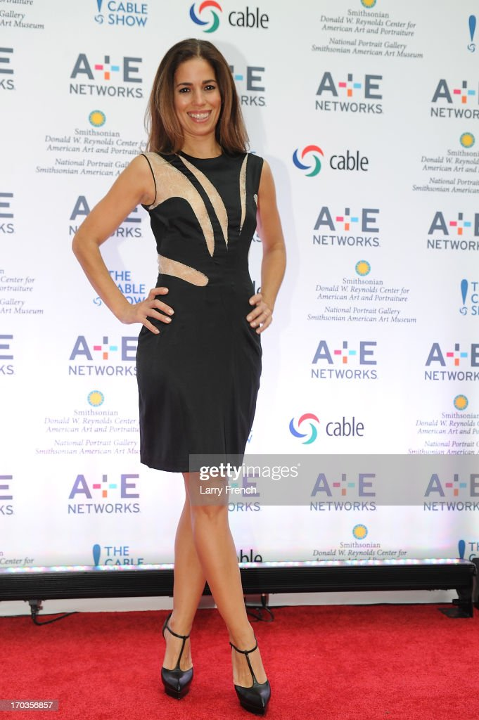 Anna Ortiz attends the A+E hosted NCTA Chairman's Reception at the Smithsonian American Art Museum & National Portrait Gallery on June 11, 2013 in Washington, DC.